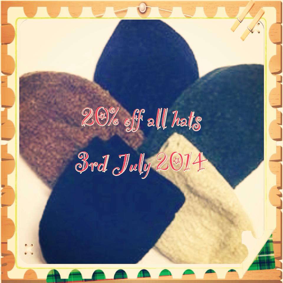 hats offer july 20% OFF All Mens Hats Today!