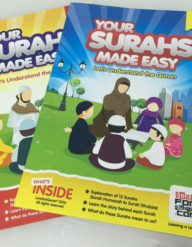 YOUR SURAHS MADE EASY PART 1 AND PART 2