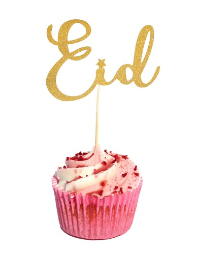 10 Eid Cupcake Toppers