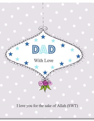 Dad With Love Card
