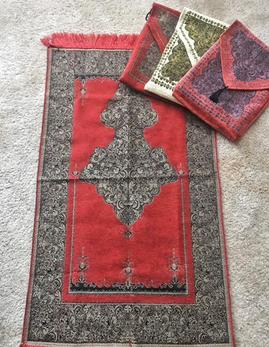 Chenille Prayer Mats - with Carry Bag