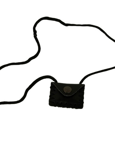 Square Leather Taweez Pouch