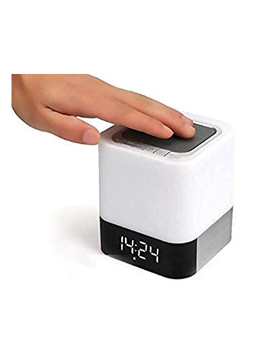Quran Cube Touch Lamp - with Clock