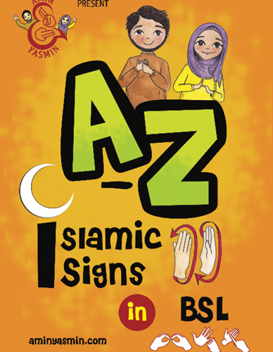 A-Z of Islamic Signs Book in BSL