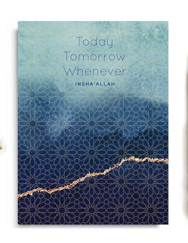 Today, Tomorrow, Whenever Soft Cover Notebook