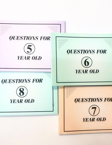 Question book For Kids - Age 5, 6, 7 or 8