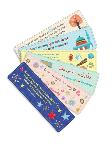 Set of 6 bookmarks - SmartArk