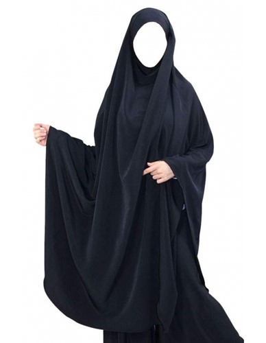Mid Length Khimar - with or without cuff