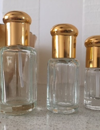 Glass Perfume Attar Oil Bottles - EMPTY - 3ML 6 ML 12 ML