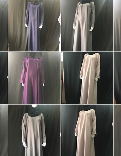 NIDA - Plain Coloured Abayas