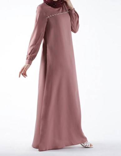 Pearl Accent Abaya- 56S
