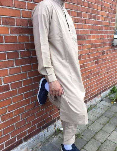 Shalwaar Kamees Knee Length with Trousers Ezaar