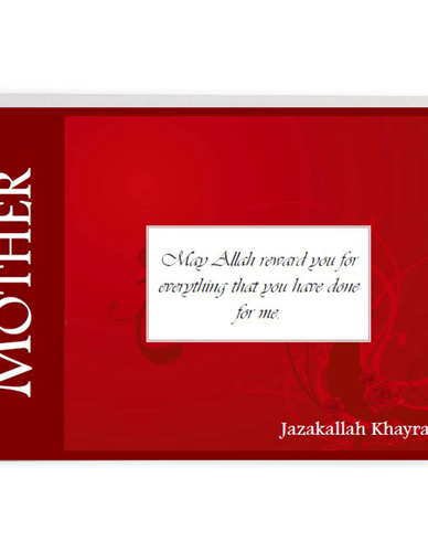 Mother Card - Jazakallah