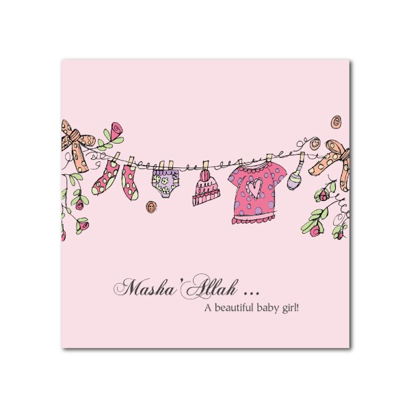 Best newborn baby girl wishes in islam image collection congrats on baby girl m4hsunfo